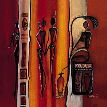Dafen Oil Painting on canvas -africa06