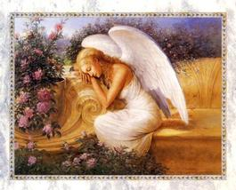 Dafen Oil Painting on canvas -angel10