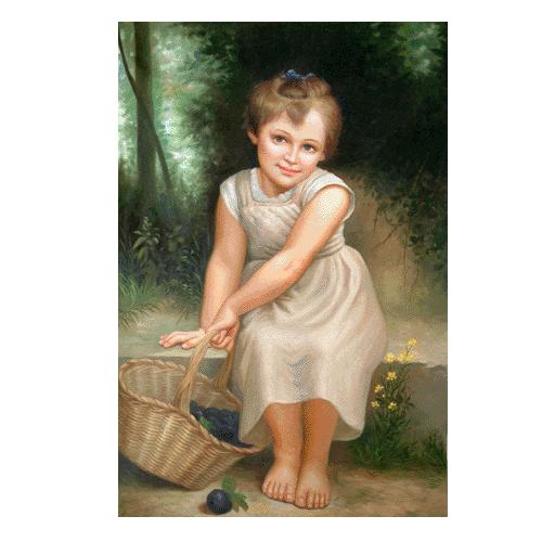 dafen oil painting on canvas -classic004