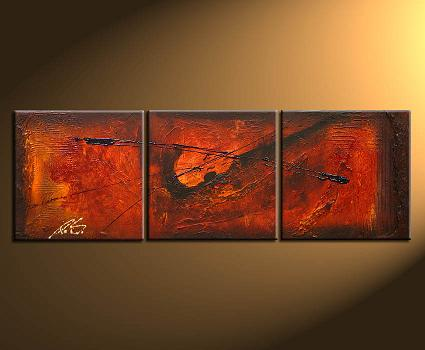 Dafen Oil Painting on canvas abstract -set111